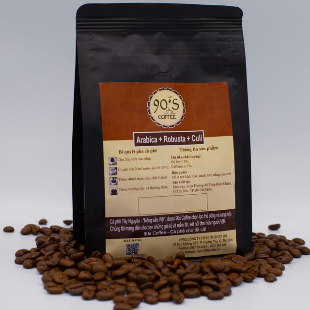 cà phê rang xay nguyên chất