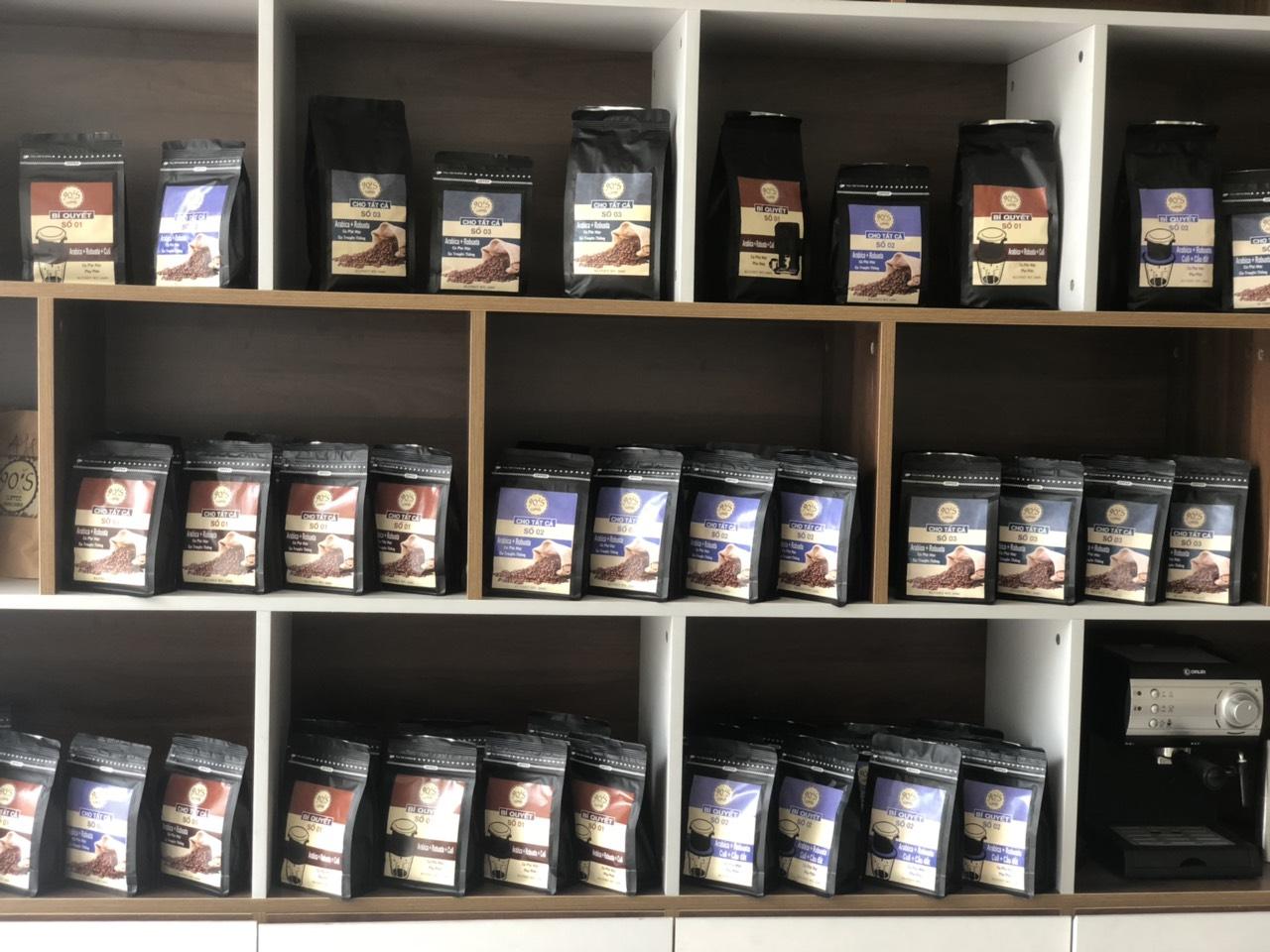 Cà phê độc quyền 90s coffee hương vị nguyên chất