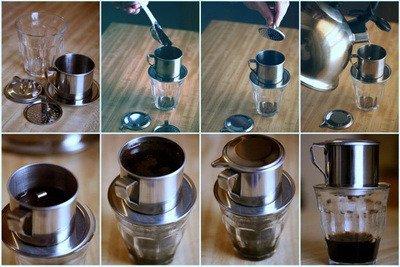 Có nhiều cách pha cafe phin ngon khác nhau