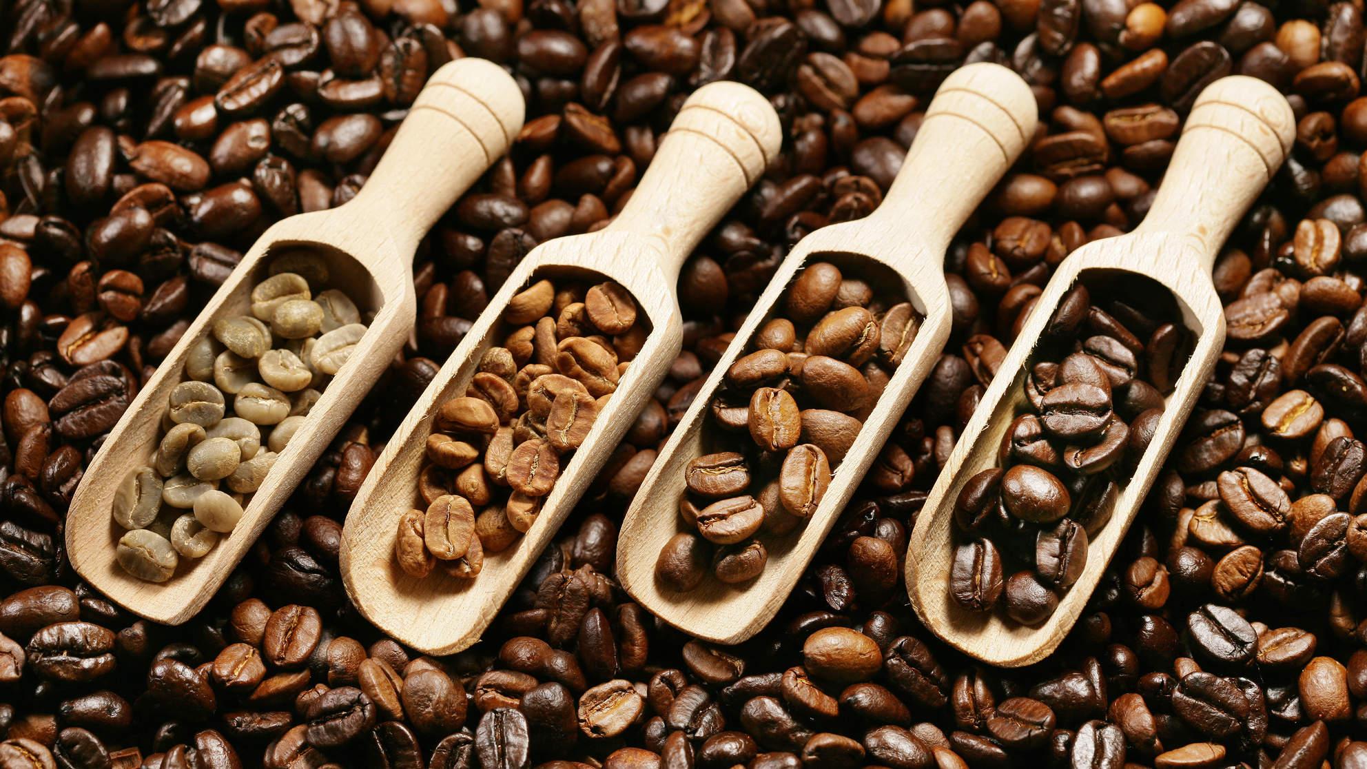 hạt cafe nguyên chất