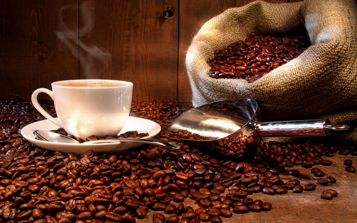 cafe hạt rang