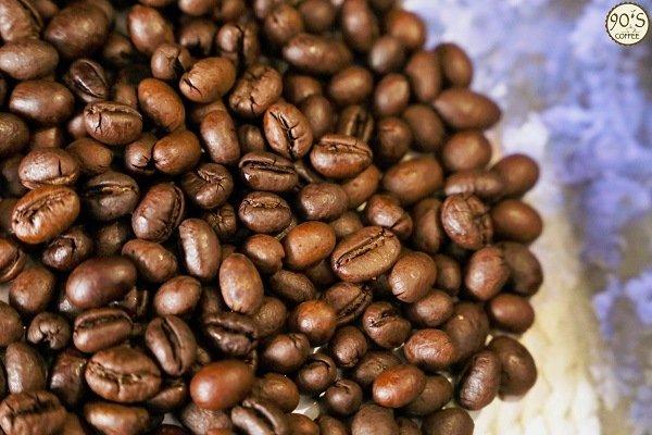 Dòng sản phẩm rang xay nguyên chất Culi Robusta của 90S Coffee