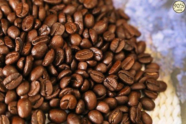 Hạt cafe Moka Cầu Đất