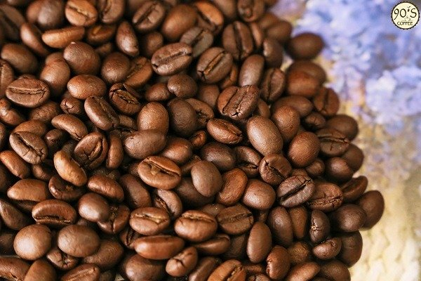 Hạt cafe Robusta S18 nguyên chất của 90S Coffee