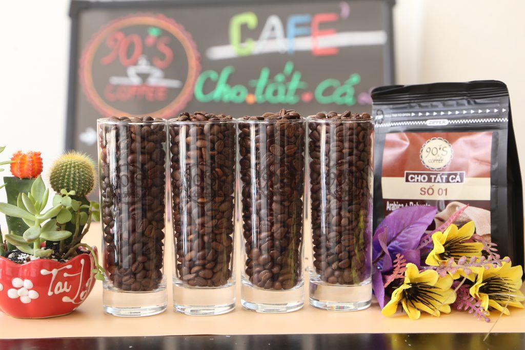 90S Coffee chuyên cung cấp cafe hạt rang xay - cà phê nguyên chất