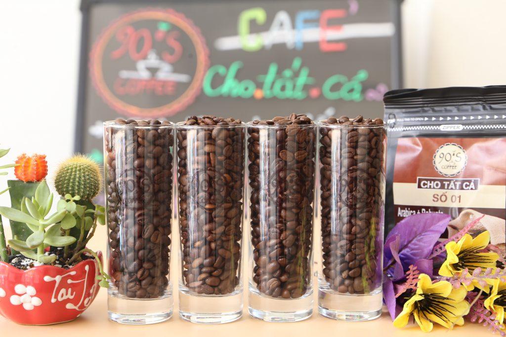 cà phê hạt rang mộc giá sỉ tphcm