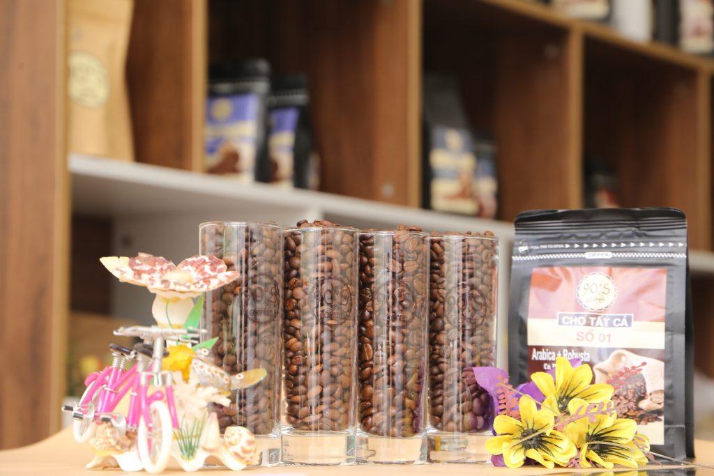 cà phê sạch- cafe rang mộc nguyên chất