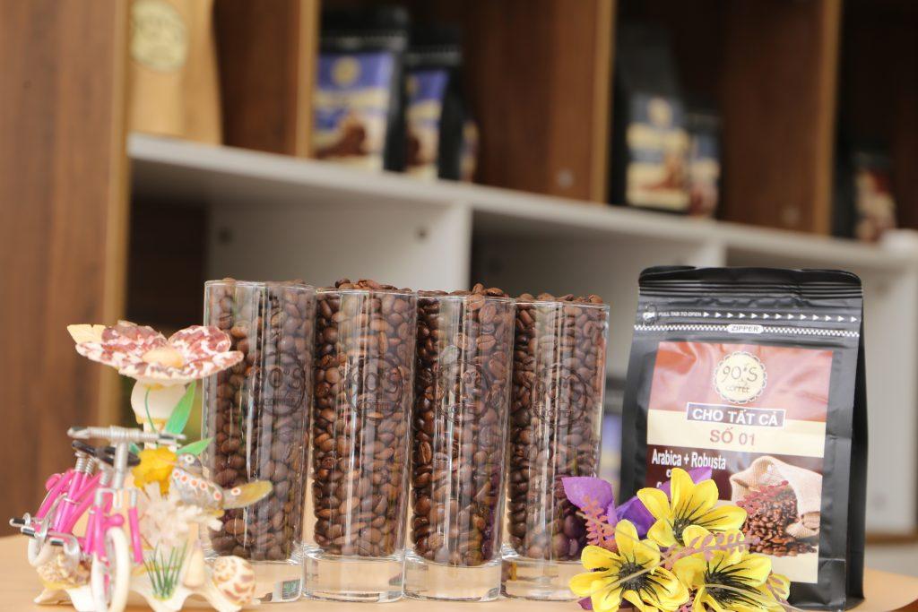 cà phê hạt nguyên chất giá sỉ đồng nai