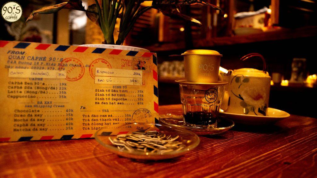 Không gian quán cafe đẹp tại thủ đức TPHCM