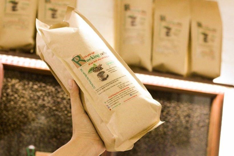 Rocking Coffee - nhà cung cấp cà phê hạt tại TPHCM