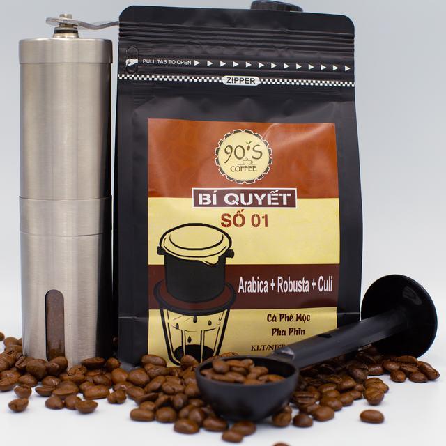 Bột cà phê rang xay phải được bảo quản chu đáo
