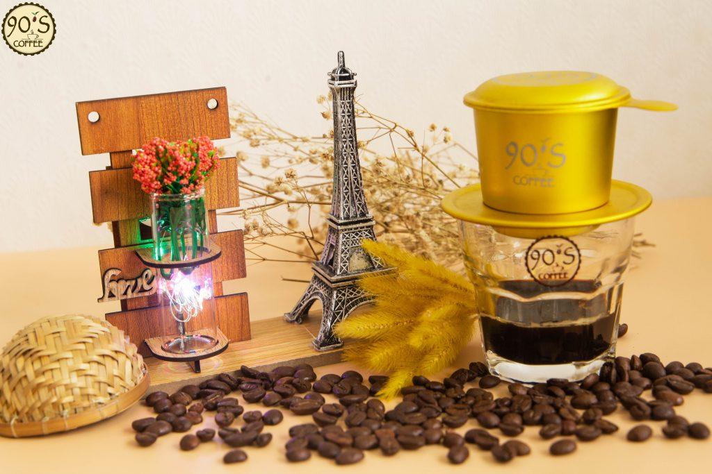 cafe hạt Moka Cầu Đất pha phin hay máy đều ngon