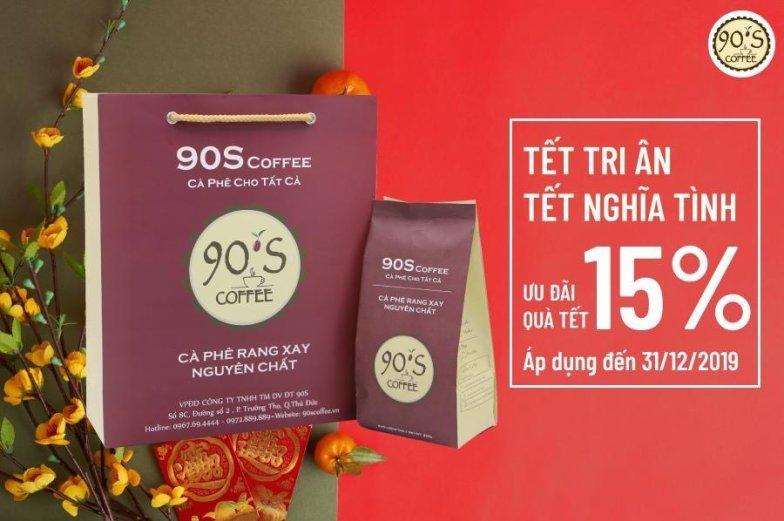 Quà tặng cà phê ý nghĩa từ 90S Coffee