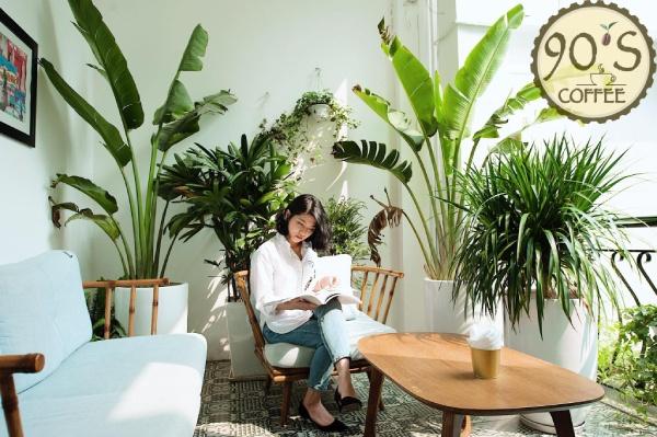 Mô hình cafe sách cần có sự yên tĩnh, không gian thoáng đãng cho khách hàng trải nghiệm
