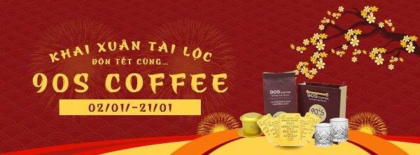 Chương trình khuyến mãi cà phê dịp tết 2020