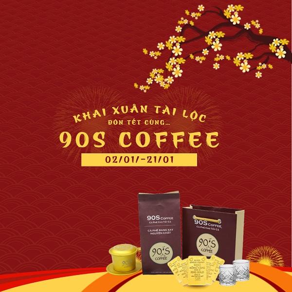 Chương trình khuyến mãi cafe rang xay nguyên chất
