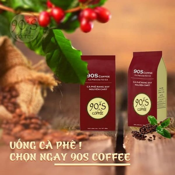cafe rang xay 90S Coffee Vietnam
