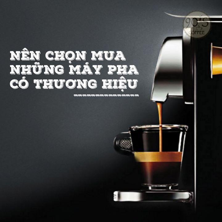 Mua may pha ca phe khi setup quan cafe