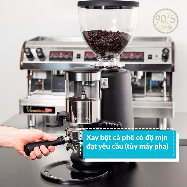 setup quan cafe co can thiet phai mua may xay ca phe hay khong