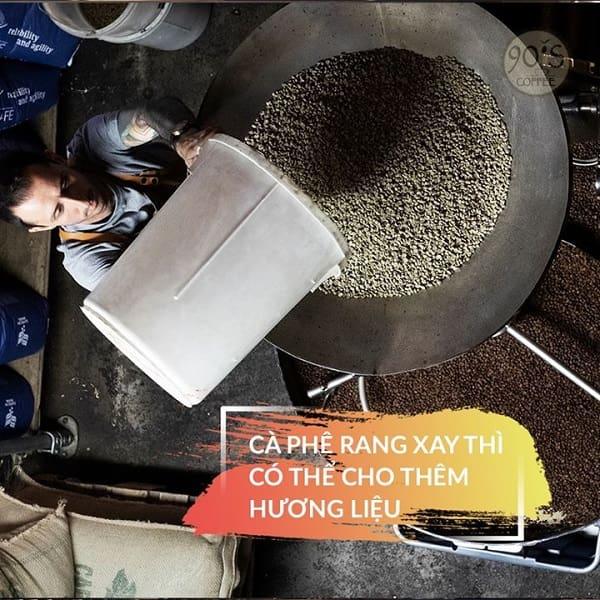 ca phe rang xay 90S Coffee Vietnam