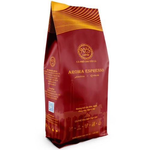cafe rang xay nguyen chat cao cap pha may aroma espresso
