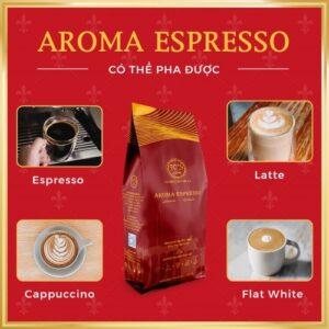 Cà phê nguyên chất thượng hạng AROMA ESPRESSO
