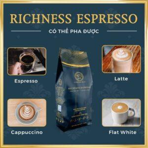 Cà phê rang xay nguyên chất thượng hạng RICHNESS ESSPRESSO