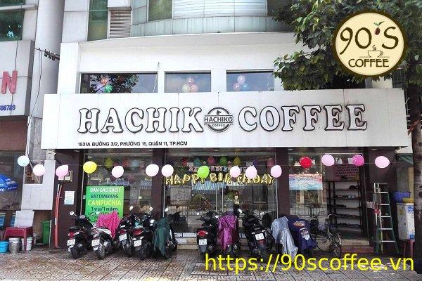 toan canh hachiko coffe tai chi nhanh quan 11