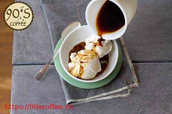 Cong thuc hoan hao cho mot ly cafe Affogato truyen thong