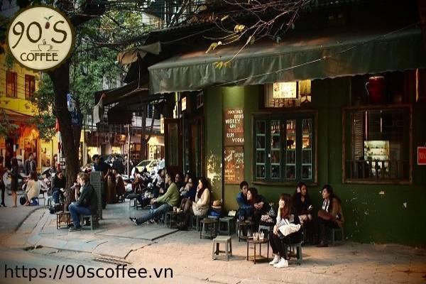 Hinh anh mat bang phu hop doi voi cafe coc.
