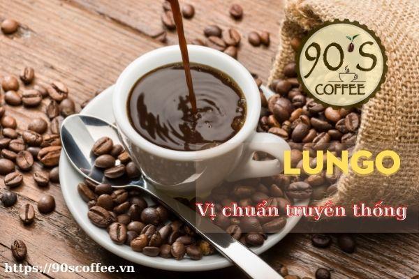 Cà phê Lungo là một biến thể từ cà phê Espresso.