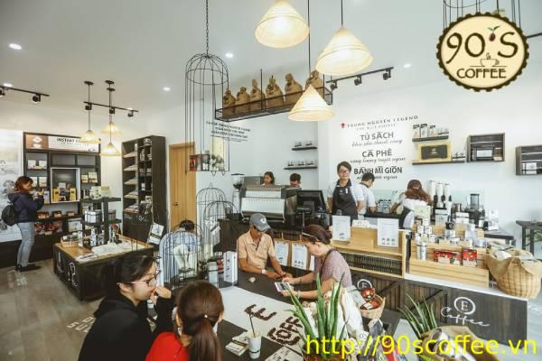 mo hinh kinh doanh cafe sang ngay nay phat trien