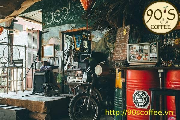 phong cách quán cafe sáng thich hop voi phuot thu