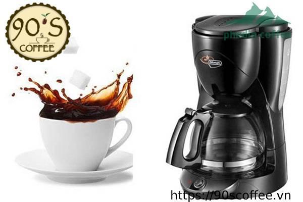 may pha cafe cho gia dinh delonghi