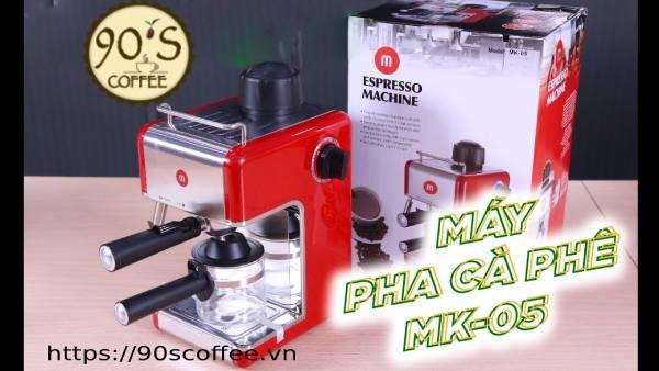 dong may pha cafe Mishio duoc ua chuong