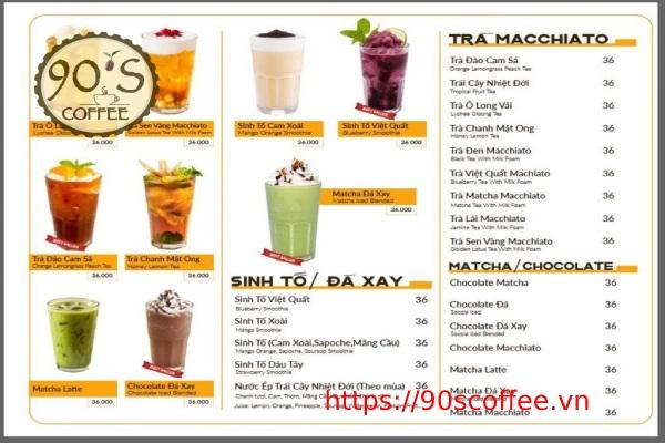 mau menu do uong quan cafe an tuong