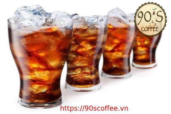 nuoc uong giai khat san co tren thi truong trong menu quan cafe