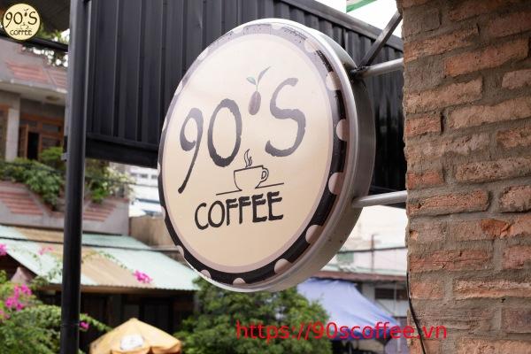 bien hieu thu hut cua 90s coffee