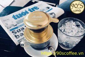 Cach pha cafe bang phin