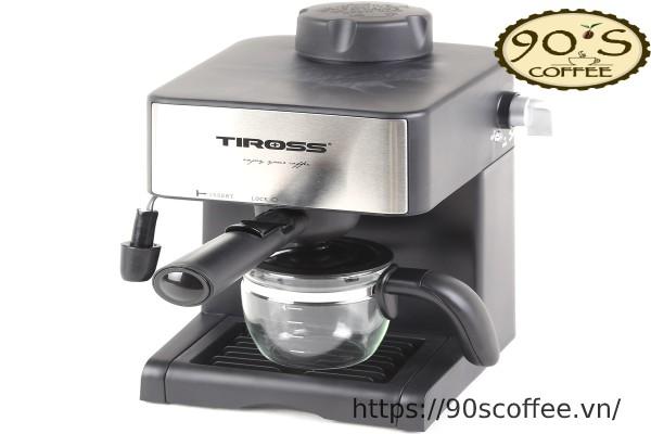 may pha cafe ban tu dong Tiross TS621 loai nho gia re