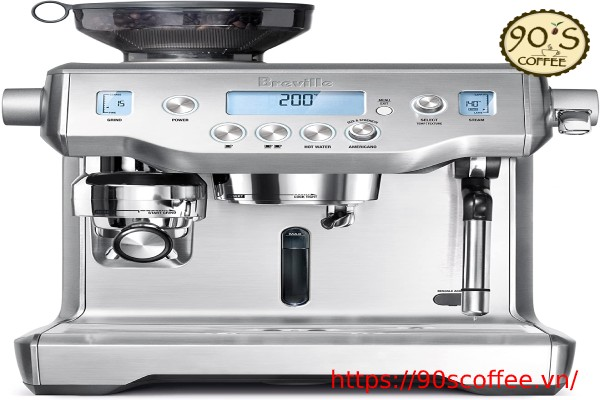 may pha cafe breville bes980xl oracle nho gon tien nghi