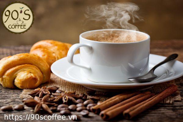 Nen mua cafe nguyen chat cua 90S Coffee