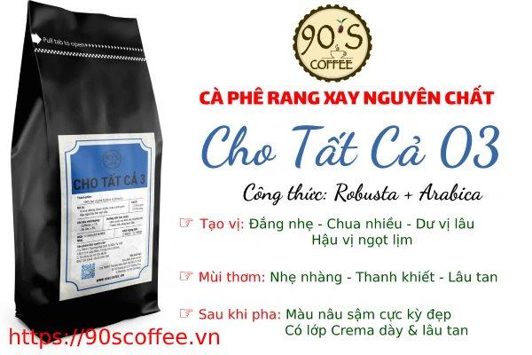 ca phe nguyen chat 90s coffee phu hop voi nhu cau tai hoc mon