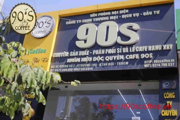 90S Coffee cng cap cafe nguyen chat