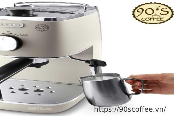 may pha cafe dolonghi ECI Espresso Distinta DeLonghi 341