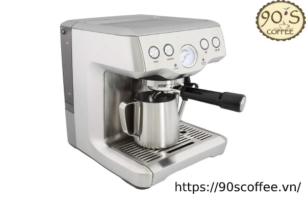 may pha ca phe breville bes840xl