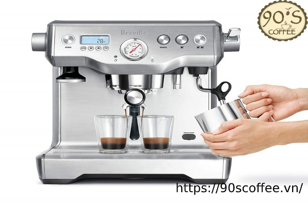 may pha cafe breville bes920xl