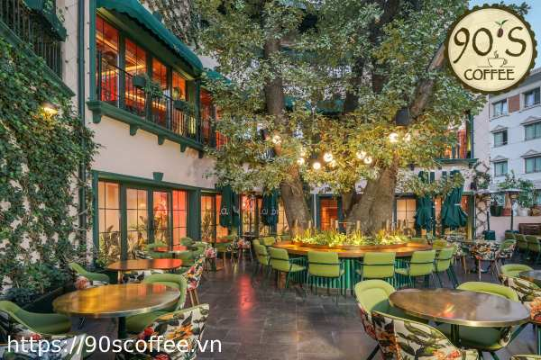 90S Coffee cung cap cafe nguyen chat cho chu quan cafe tai Binh Duong.