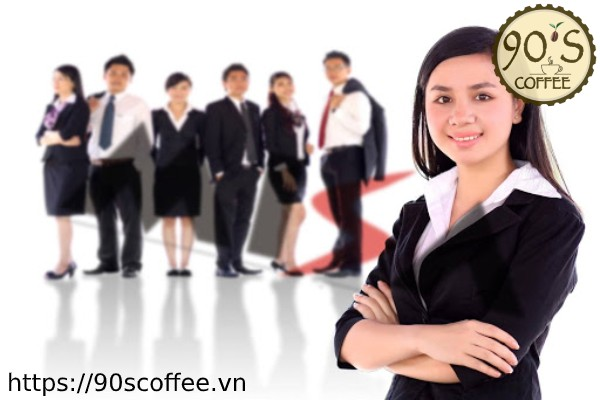 doi ngu nhan vien chuyen nghiep 90s coffee