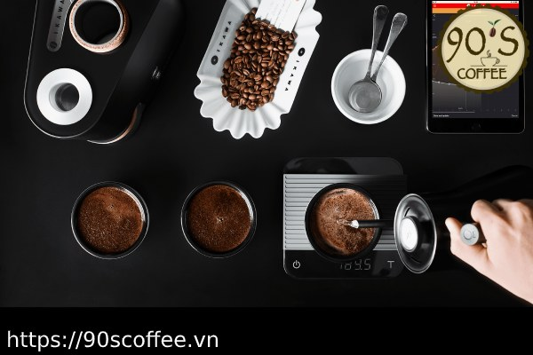Xay cafe cua 90S Coffee.